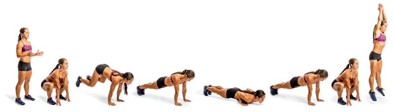 Firebreather Fitness Exercise: GI Jane (Burpee & Pull-Up)