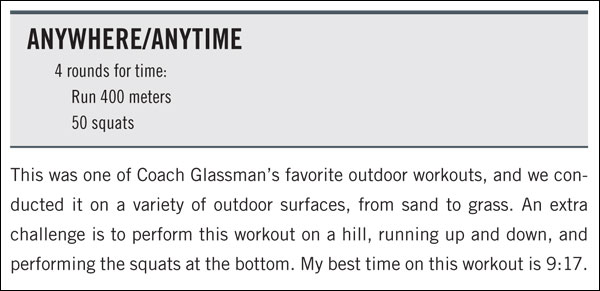 Anywhere Anytime CrossFit WOD from Firebreather Fitness by Greg Amundson