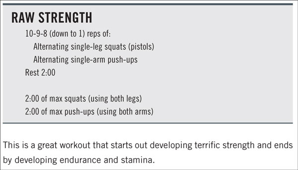 Raw Strength CrossFit WOD from Firebreather Fitness by Greg Amundson